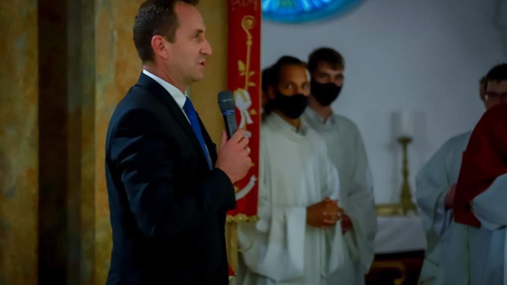 Erdő Péter bíboros, érsek Kalocsára látogatott
