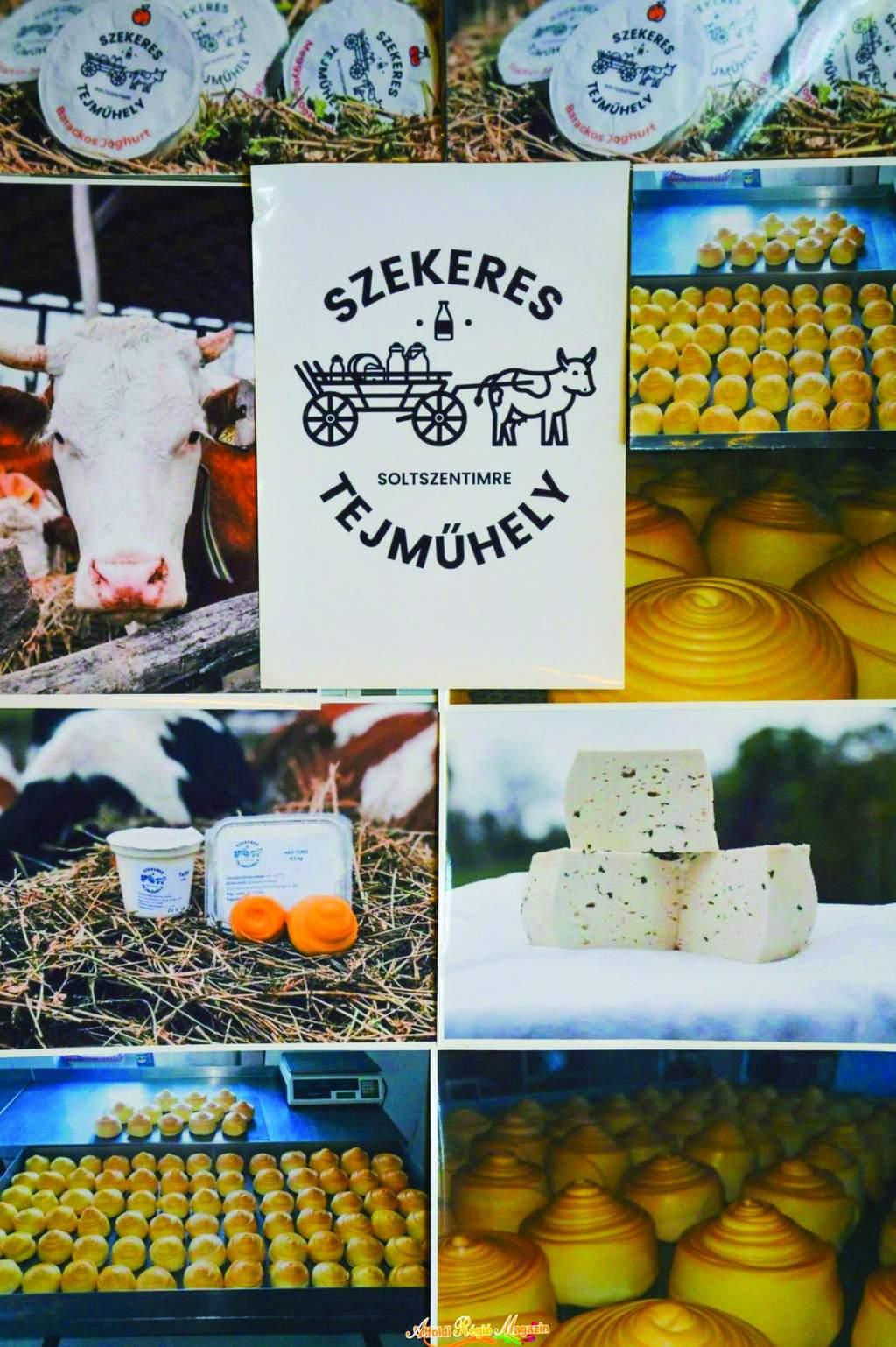 Minőségi friss túró, sajt és joghurt a Szekeres Tejműhelyből