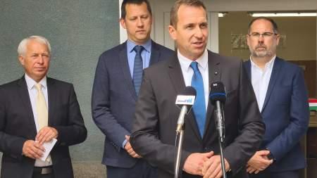 Megnyitották az ERFO új üzemét Kalocsán