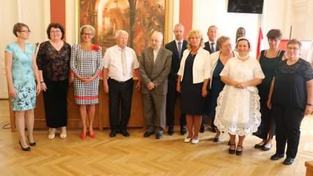 Bensőséges államalapítási ünnepségen adták át Kalocsa kitüntető díjait