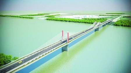 Elkezdődött a 20. magyar  Duna híd építése