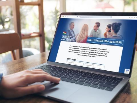 Online is kitölthető a nemzeti konzultáció