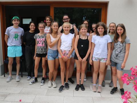 Élményekben, ismeretekben gazdag horvát tábort tartottak Dusnokon